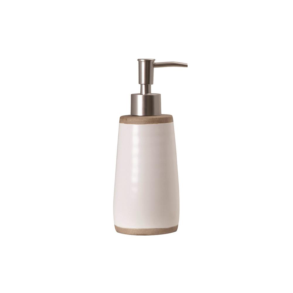 Dispenser sapun lichid RUSTIC Alb Sorema