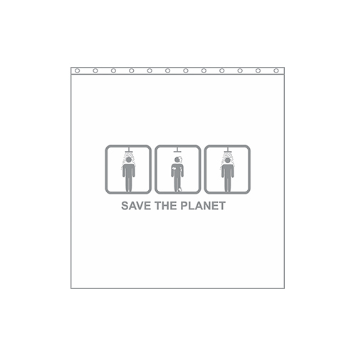 Perdea dus SAVE THE PLANET koomood 2021