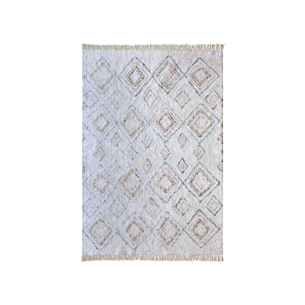 Covor SALFORD Ivory/Multicolor 120 x 180 cm The Rug Republic